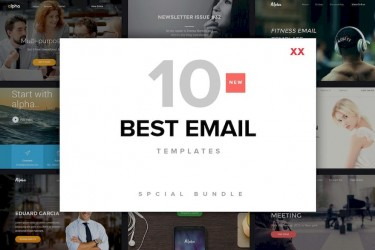 10个精美独特的电子邮件设计模板