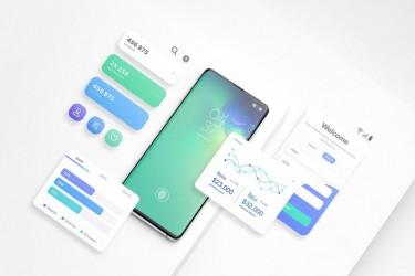 三星Galaxy S10 app展示样机