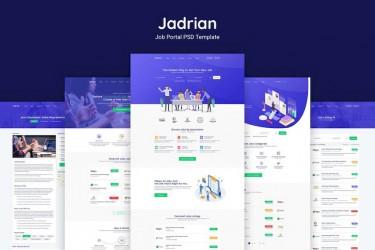 人力资源网站网页设计模板