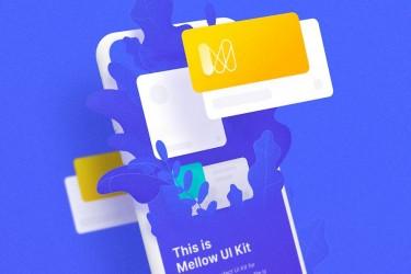 时尚多功能社交app UI设计模板