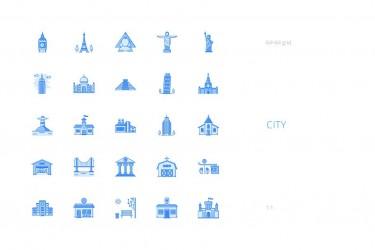 1000个实用的icon图标素材