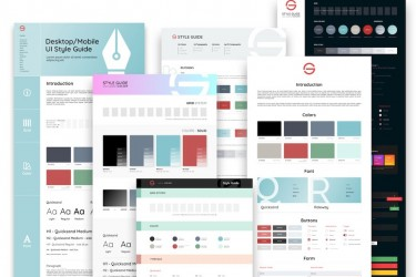 桌面/移动网页UI设计规范模板