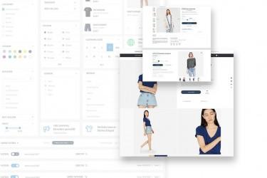 极简的创意电商购物网站设计模板