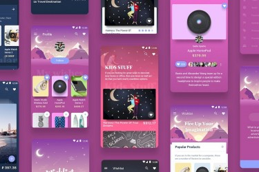 安卓购物app ui设计模板