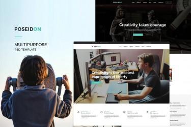 简约的公司网站界面设计模板