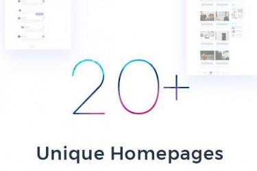 创意多用途网页设计PSD模板