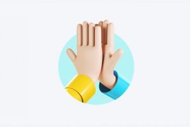 从点赞升级到击掌的互动创新设计