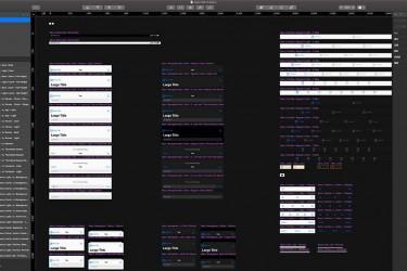 新推出的Apple iOS 13概念ui设计组件