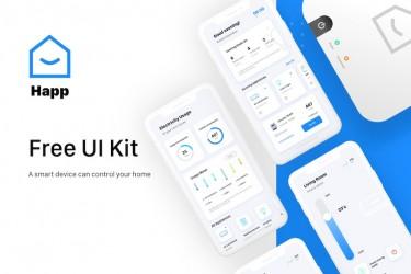 智能家居App界面设计模板