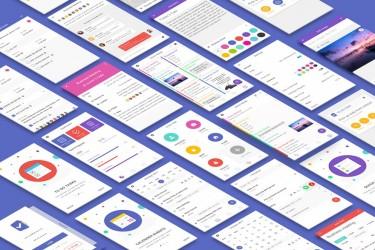 工作任务管理app ui设计模板