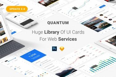 简洁实用的网页UI设计组件