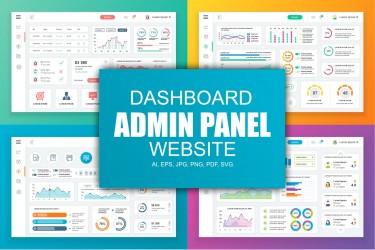 数据管理仪表盘Dashboard设计模板