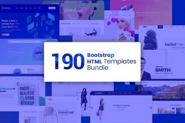 190个企业官网html前端设计模板