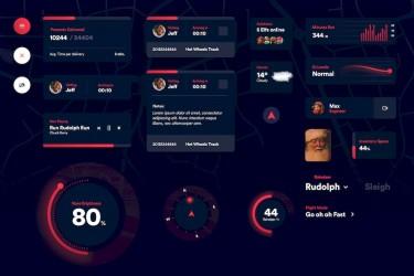 新奇有趣的app ui设计组件