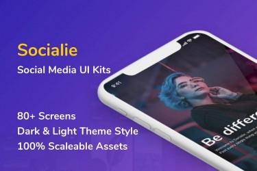 超帅的IOS社交app ui设计模板