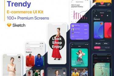 超酷的电子商务app设计模板