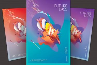 充满未来感的科幻海报设计模板
