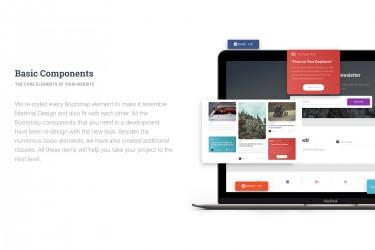 创意的多用途网页ui设计组件模板