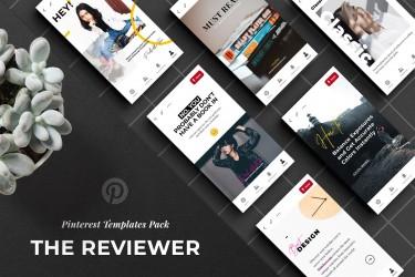 社交媒体宣传卡片广告设计模板