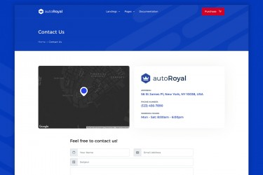html格式的汽车交易市场网站设计模板