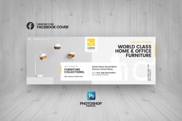 简洁的家居产品宣传海报设计模板