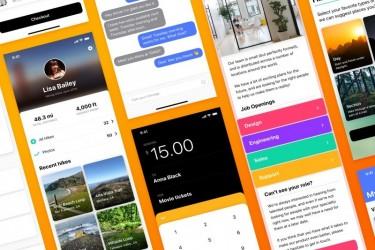 热门多用途的app ui设计模板
