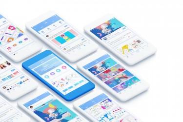 中文UI学习app界面设计模板
