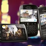 国外设计师一个新的项目:黑莓手机界面设计