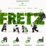 网站色彩搭配之《绿色系网页设计教程》