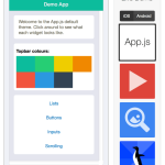 WebApp UI框架App.js的入门介绍和使用手册