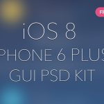 iOS8图标重构技巧和iPhone 6 Plus GUI全套图
