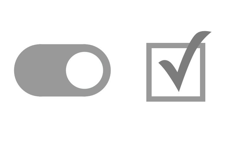 "ui表单设计中的""复选框""与""切换开关""要怎么选择?"