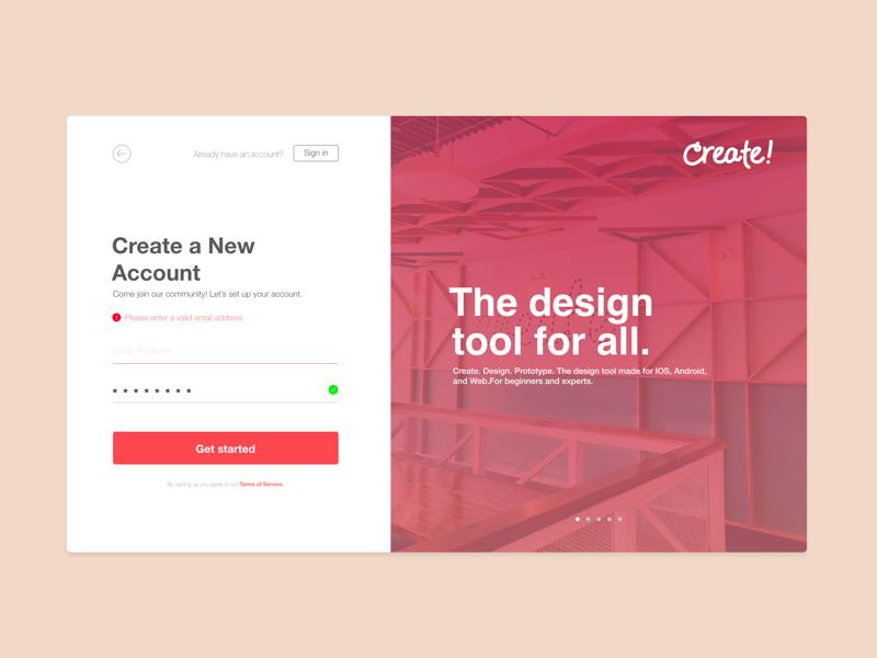 网页登录页面设计灵感