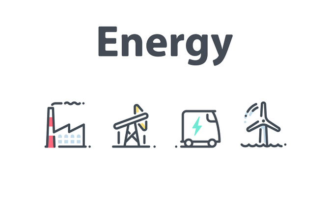 28个能源相关的图标素材
