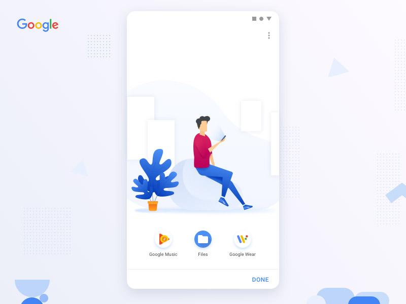 【专题】安卓类app ui设计模板