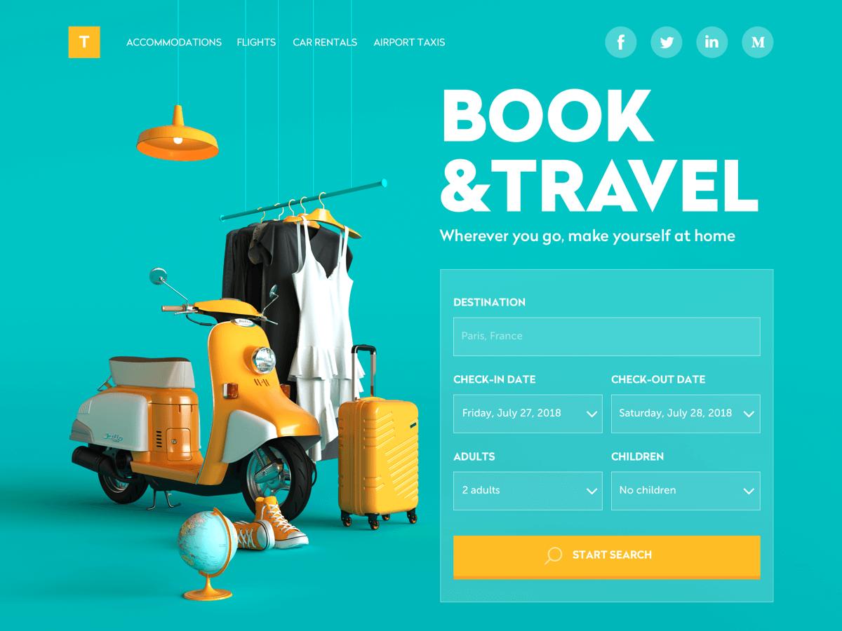 9个好看的网页设计的设计过程分享