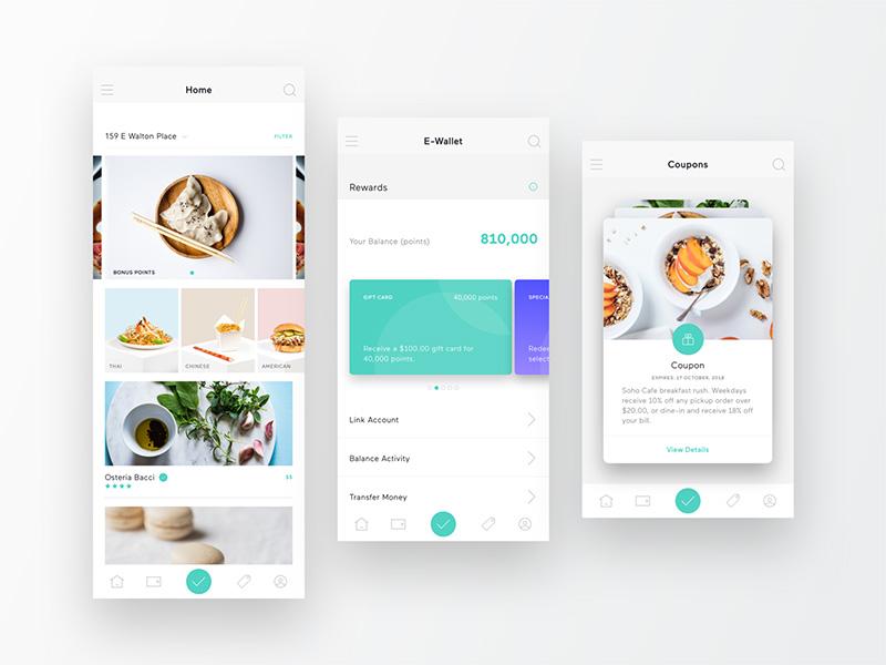 餐饮app界面设计欣赏