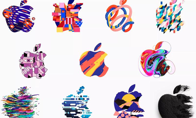 苹果邀请函的Logo全在这儿了,一共370个!