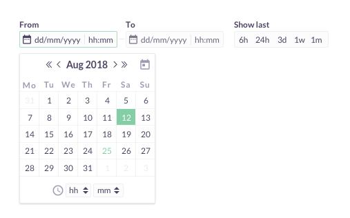 一个完美日期选择器的ui设计过程